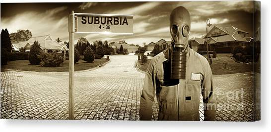 Breathe Canvas Print - Another Day In Suburbia by Jorgo Photography - Wall Art Gallery