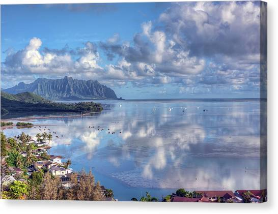 Another Kaneohe Morning Canvas Print