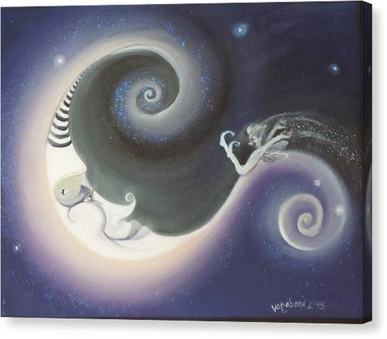 Another Moon Painting Vagabond 2005 Canvas Print