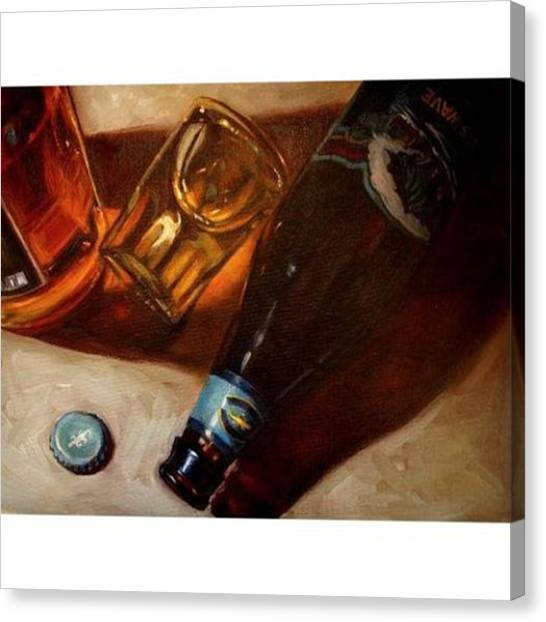 Scotch Canvas Print - Another Oil Painting From This Year by Jennifer Soriano