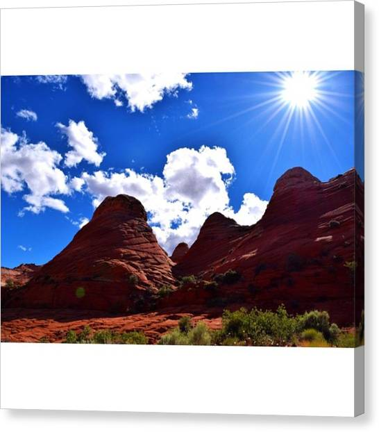 Star Trek Canvas Print - Another One From The Arizona Desert by Scotty Brown