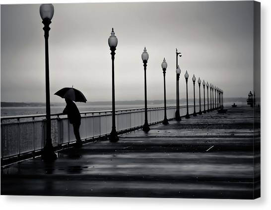 Another Rainy Day Canvas Print by Girardi Santiago