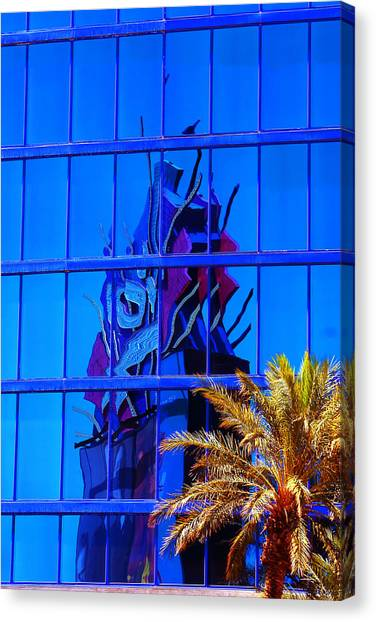 Another Rio Reflection Canvas Print by Richard Henne