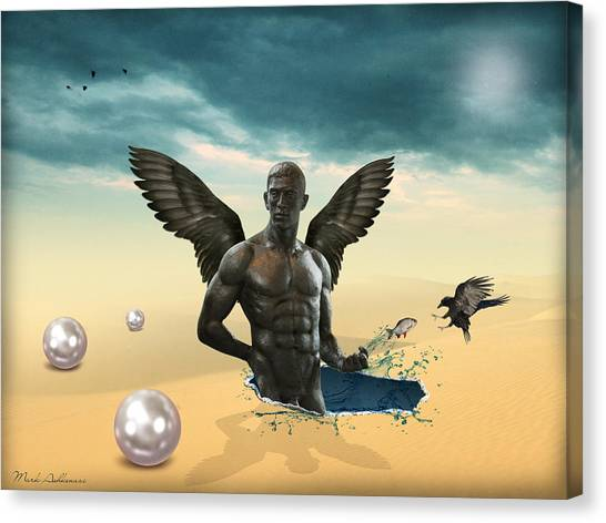 Imagination Canvas Print - Another Side Of Dream 2 by Mark Ashkenazi