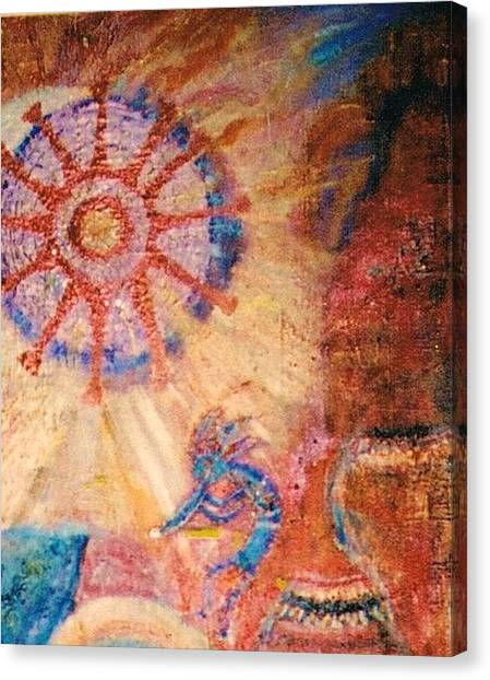 Another View Canvas Print by Anne-Elizabeth Whiteway