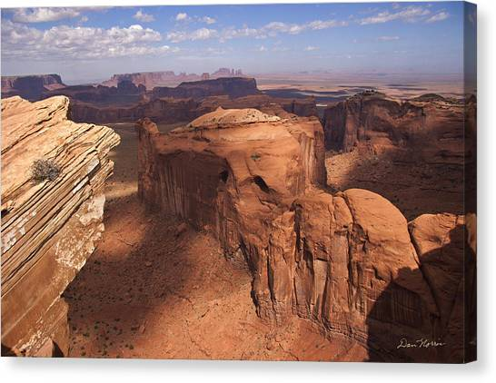 Another View From Hunt's Mesa Canvas Print