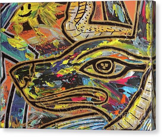 Anpu Canvas Print