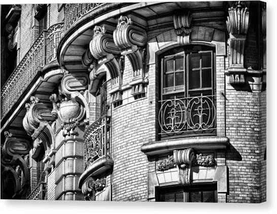 Ansonia Building Detail 36 Canvas Print