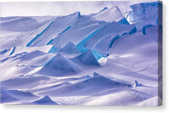 Antarctica Canvas Print - Antarctic Landscapes  by Rand