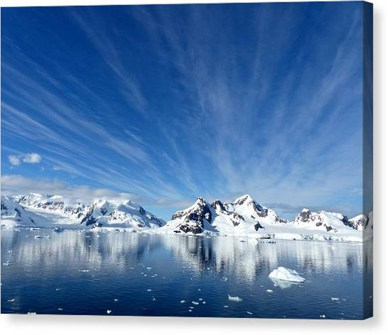 Antarctica Canvas Print - Antarctica by Super Lovely
