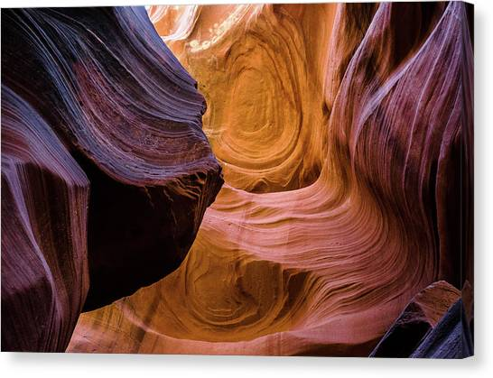 Antelope Canyon 12 Canvas Print