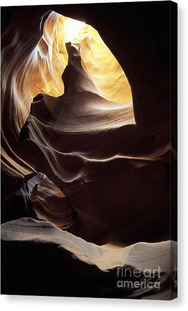 Antelope Canyon 2 Canvas Print by Stan and Anne Foster