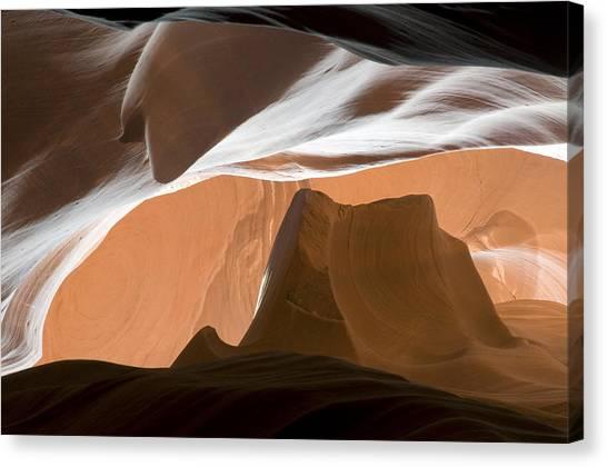 Antelope Canyon Desert Abstract Canvas Print