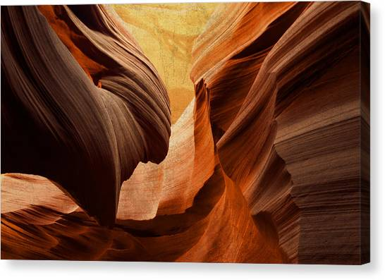 Southwest Canvas Print - Antelope Canyon by Design Turnpike