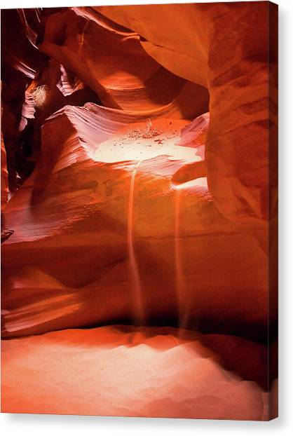 Antelope Canyon - The Falls Canvas Print