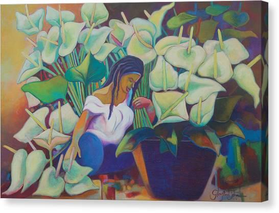 Anthirium Splendor Canvas Print