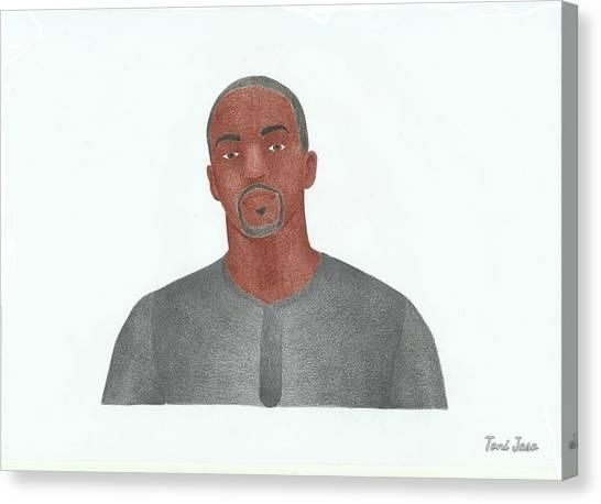 Anthony Mackie Canvas Print