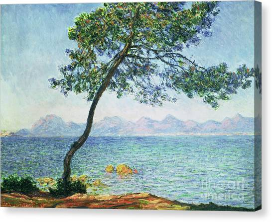 Clams Canvas Print - Antibes by Claude Monet
