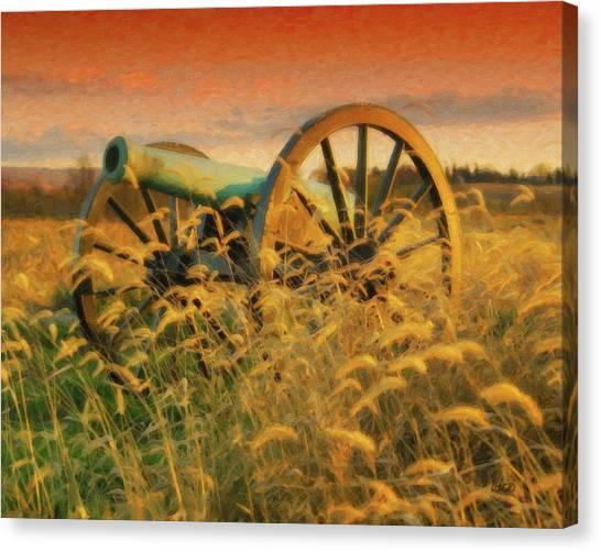 Antietam Battlefield - Dwp140321 Canvas Print