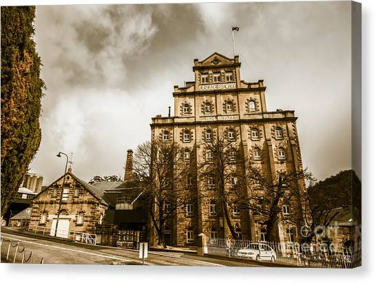 Brewery Canvas Print - Antique Australia Architecture by Jorgo Photography - Wall Art Gallery