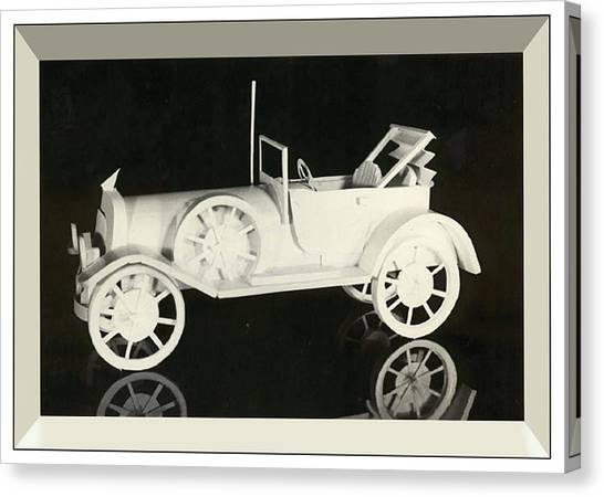 Antique Car Canvas Print