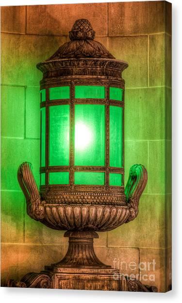 Antique Lantern Canvas Print