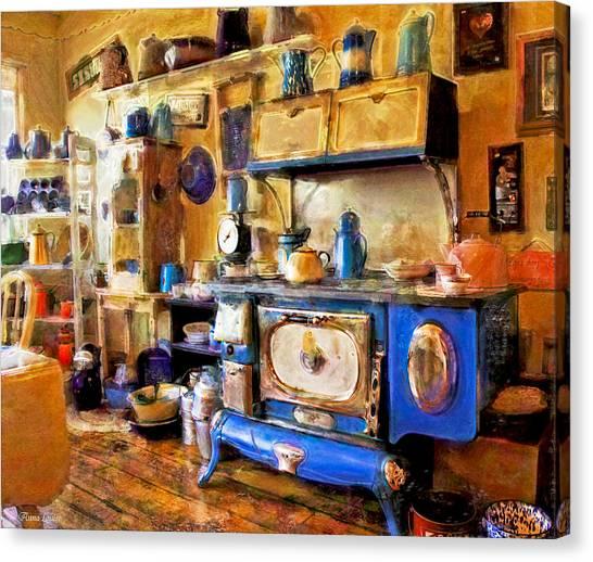 Antique Store Kitchen Canvas Print