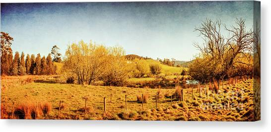Natural Landscapes Canvas Print - Antique Weathered Countryside by Jorgo Photography - Wall Art Gallery