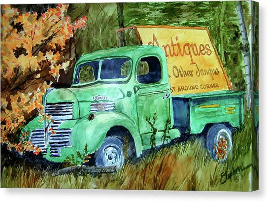 Antiques And Other Junque Canvas Print