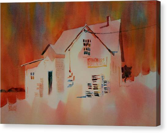 Antiques And Real Estate Canvas Print