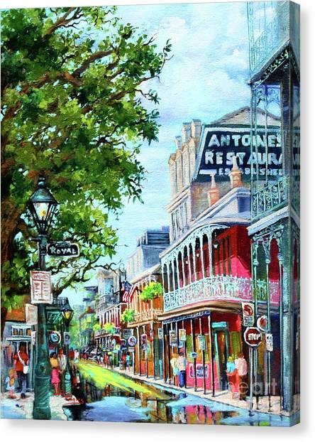 Antoine's Canvas Print