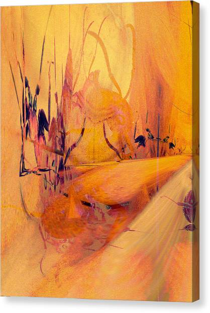 Antsy Series - Life's A Stage Canvas Print