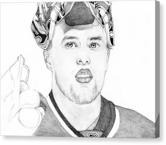 San Jose Sharks Canvas Print - Antti Niemi by Kiyana Smith