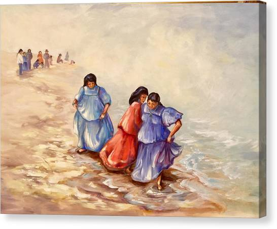 Apache Ocean Dance Canvas Print