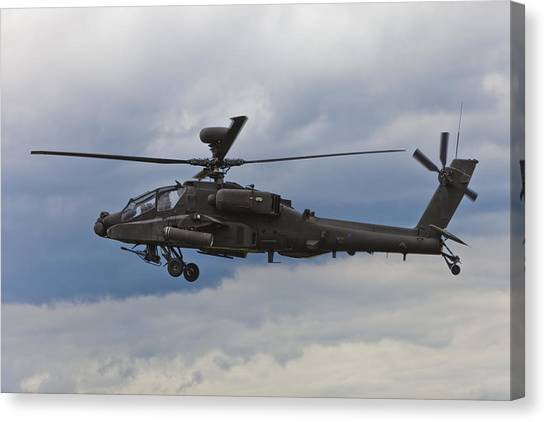 Apache Power Canvas Print