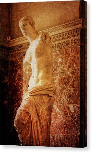 Aphrodite Of Milos Canvas Print by JAMART Photography