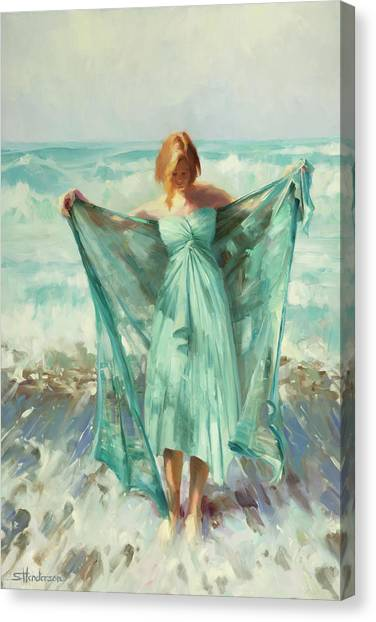 Greek Art Canvas Print - Aphrodite by Steve Henderson
