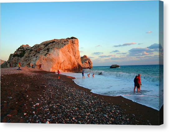 Aphrodites Rock Canvas Print by Donald Buchanan
