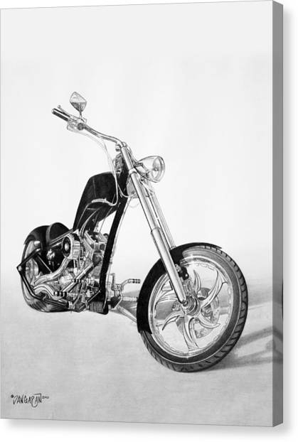 Choppers Canvas Print - Apollo Chopper by Tim Dangaran