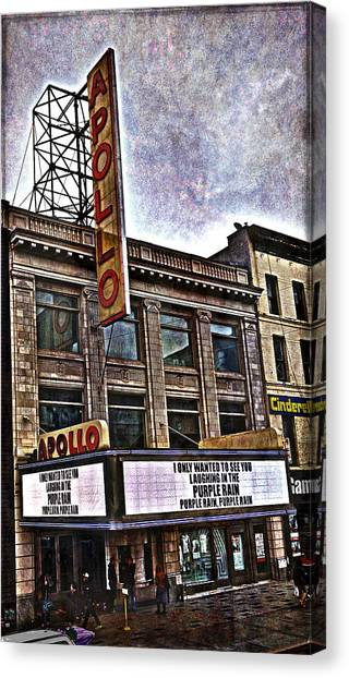 Apollo Theatre, Harlem Canvas Print
