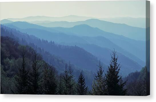 Appalachian Blue Canvas Print