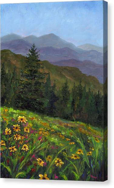 Appalachian Color Canvas Print by Jeff Pittman