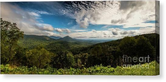 Appalachian Foothills Canvas Print