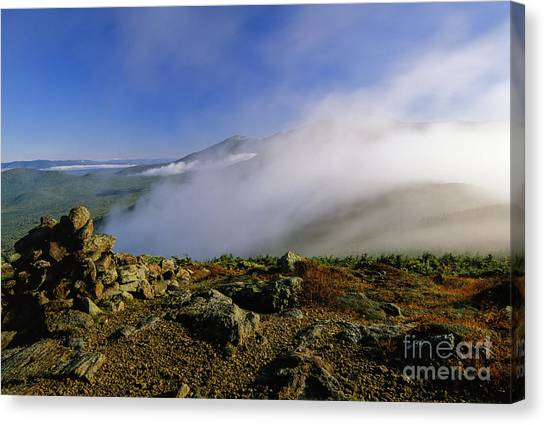 Canvas Print featuring the photograph Appalachian Trail - White Mountains New Hampshire Usa by Erin Paul Donovan