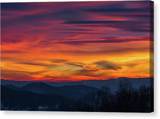 Appalachian Twilight Ecstasy Canvas Print