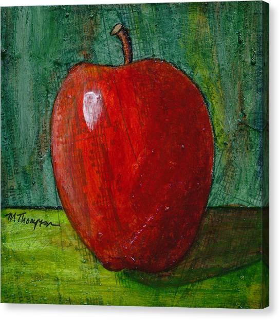 Apple #4 Canvas Print
