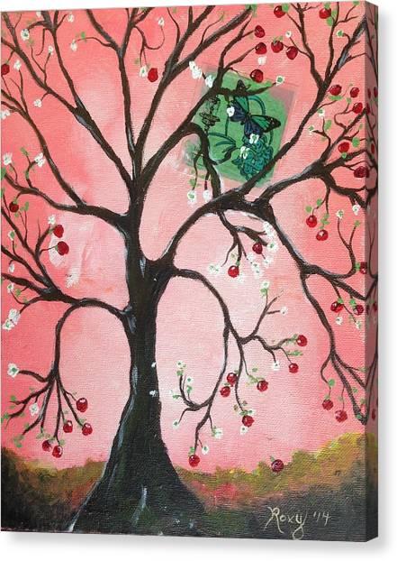 Apple Tree Canvas Print - Apple Tree by Roxy Rich