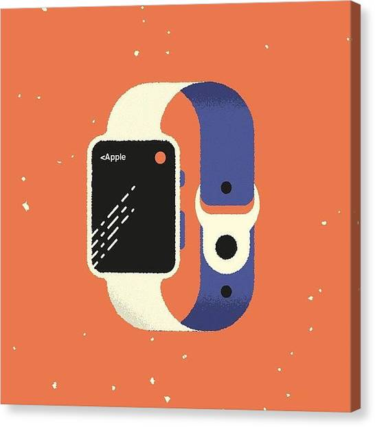 Independent Canvas Print - apple Watch Hands-on Review: New by Avnish Panesar