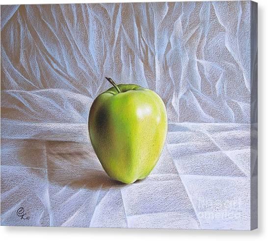 Apple Canvas Print