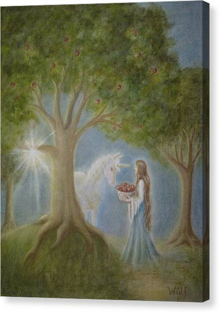 Apples Of Avalon Canvas Print